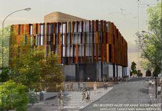 Şişli Halide Edip Adıvar Ulusal Mimari Proje Yarışması, Eşdeğer Mansiyon: Derya Ekim Öztepe, Ozan Öztepe