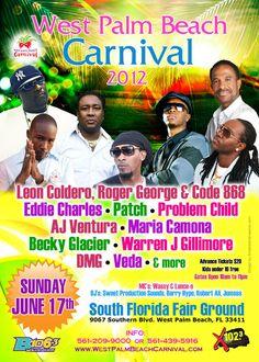 West Palm Beach Carnival 2012