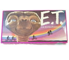 E. T. Board Game Parker Brothers Extra Terrestrial Phone Home Never Used by EclecticVintager on Etsy