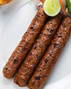 Such is our love for kebabs. Then how is it that we shy away from making kebabs at home? A lot of us believe that cooking kebabs is ver. Seekh Kebab Recipes, Seekh Kebabs, Tandoori Recipes, Kabob Recipes, Halal Recipes, Spicy Recipes, Grilling Recipes, Indian Food Recipes, Beef Recipes