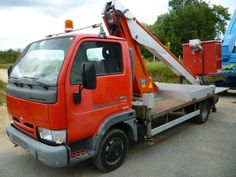 Camion poids lourd Nacelle Nissan 160 alu/ds occasion