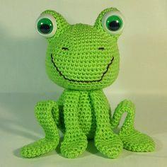Tamigurumi: Frog (free pattern)