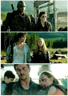 3 otps of #The100  #Linctavia #Bellarke #Wicken