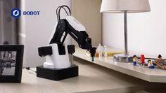 デスクトップにおけるロボットアーム——汎用4軸ロボットアーム「Dobot Magician」