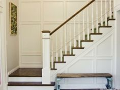 love this wainscoting