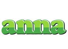 Anna apple logo
