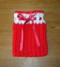 Festive Crochet Gift Bags ~ free pattern