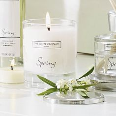 Spring Signature Candle   The White Company