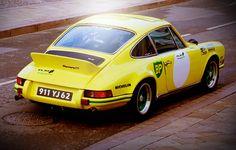911 RS 2.7 #porsche #motorsport