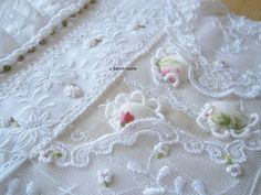 thoughts on embroidery and tradition, cloth, stitch, hand worked embellishment using new and vintage cloth for embroidery. Embroidery Patterns, Quilt Patterns, White Linens, Paper Design, Home Crafts, Fiber Art, Hand Sewing, Embellishments, Cross Stitch