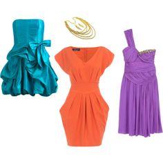 Akú farbu plesových šiat vybrať? - Supervizáž