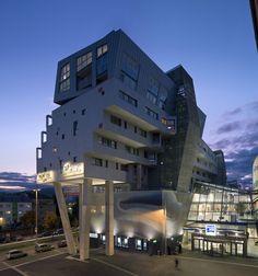 "Apartment Building ""Liesing Brewery"" - Coop Himmelb(l)au"
