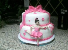 Ballerina Cake - Perfect for the little dancer in your life