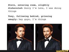 "Yaoi, Stony // Tony is a great ""thing"""