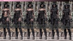 Tembtra Thief Armor UNP - CBBE at Skyrim Nexus - mods and community