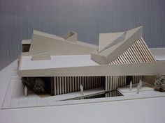 Roof Architecture, School Architecture, Architecture Details, Arch Model, Amazing Buildings, Civil Engineering, Building Design, Artec, Facade