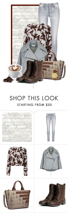 """""""coffee date"""" by bb-tka ❤ liked on Polyvore featuring Desigual, A.L.C., Chloé, Movado and CoffeeDate"""