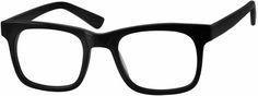 BlackClassic Horn-Rim Square Eyeglasses366621