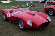 Ferrari 250 TR (Chassis 0756TR - 2014 Pebble Beach Concours d'Elegance) High Resolution Image