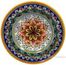 Resultado de imagem para deruta plate ceramic