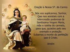 Prayer Nossa Senhora do Carmo