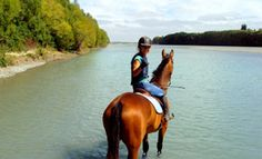 River Trekking at Scarlett Oak Equestrian Center