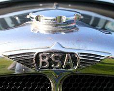 La marque automobile anglaise de voitures BSA fut fondée en 1861.