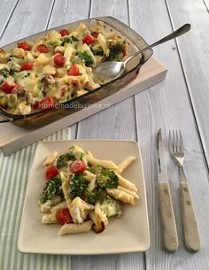 Pasta oven dish with
