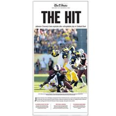 "South Carolina Gamecocks ""The Hit"" Poster (Available Framed)"