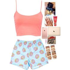 Image about sleep over in Outfits ♥ by Dann on We Heart It Swag Outfits For Girls, Cute Lazy Outfits, Cute Swag Outfits, Teenage Girl Outfits, Teen Fashion Outfits, Teenager Outfits, Dope Outfits, Girly Outfits, Cute Sleepwear