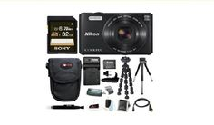 Sign up for your chance to win a Nikon Coolpix S7000 Camera  Kit! Ends 3/31/17.