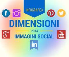 Dimensioni Immagini Social: tutte in un'Infografica!