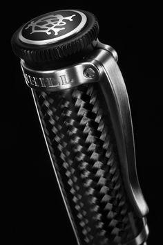 The Carbon Fiber Sentryman Pen by Dunhill
