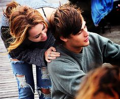 LOL - a cute movie about growing up with Miley Cyrus and Douglas Booth <3