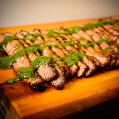 Sweet and Spicy! Try our Executive Chef Craig D'Cruze recipe for Mango - Jalapeno BBQ Flank Steak with Cilantro and Charred Lime Salsa Verde Mango -. Bbq Flank Steak, Executive Chef, Salsa Verde, Sweet And Spicy, Chef Recipes, Food Preparation, Cilantro, Asparagus, Green Beans
