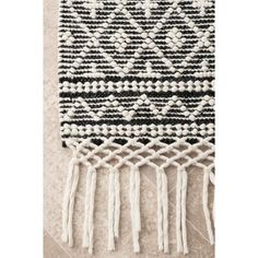 Union Rustic Napoleon Hand-Tufted Ivory Area Rug | Wayfair 8x10 Area Rugs, Rugs Usa, Round Rugs, Colorful Rugs, Embroidery Patterns, Rug Size, Tassels, Hand Weaving, Wool