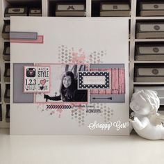 Le blog de Scrappy Géri: pages de scrap