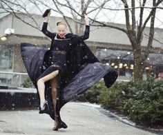 Street Style at Toronto Fashion Week / Photo by Max Kopanygin