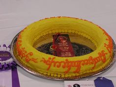 """Another """"One Ring"""" cake."""