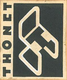 Joseph Binder, logo design for Thonet, 1935