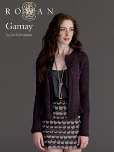 Gamay Cardigan in Rowan Fine Lace and Anchor Artiste Metallic. Discover more Patterns by Rowan at LoveKnitting. The world's largest range of knitting supplies - we stock patterns, yarn, needles and books from all of your favorite brands. Knitting Patterns Free, Knit Patterns, Free Knitting, Free Pattern, Lisa Richardson, Knit Cardigan Pattern, Lace Cardigan, Rowan Yarn, What Is Fashion