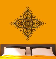 Mandala Wall Decal Indian Pattern Vinyl Stickers Namaste Yoga Home Interior Design Art Murals Bedroom Living Room Decor  Welcome to Our shop!