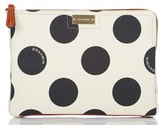 Head over heels for this polka dot clutch...