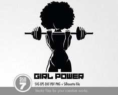 Black Woman Silhouette, Silhouette Files, Fit Black Women, Fitness Logo, Muscle Fitness, Fitness Quotes, Afro Girl, Black Girl Art, Black Art