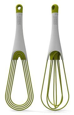 Twist whisk by Joseph Joseph // stores flat! #product_design
