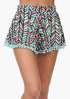Pinball Pom Shorts