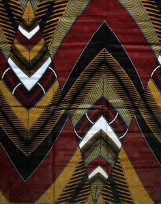 Discover recipes, home ideas, style inspiration and other ideas to try. Motifs Textiles, Textile Patterns, Textile Design, Arte Tribal, Tribal Art, African Textiles, African Fabric, African Pottery, Afrique Art