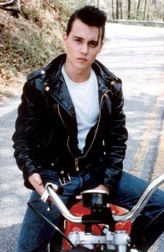 Johnny Depp in cry baby, what a fox!