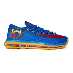 Nike Kd Vi Elite Team Pack 642838-400 Sneakers — Basketball Shoes at CrookedTongues.com