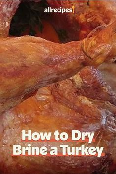 "How to Dry Brine a Turkey | ""Fans of dry-brining swear by the taste of a dry-brined turkey because the flavor is not diluted by water. For best results, you'll need to dry-brine for at least 12 hours, and up to 3 days. Let's get to it."" #thanksgiving #thankgivingrecipes #thanksgivingturkey #turkeyrecipes #turkey Dry Brine Turkey, Roasted Turkey, Thanksgiving Turkey, Thanksgiving Recipes, Turkey Fan, Roast Turkey Recipes, Green Bean Casserole, Roasting Pan, Salted Butter"